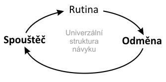 Univerzální struktura návyku a jak návyky budovat vědomě