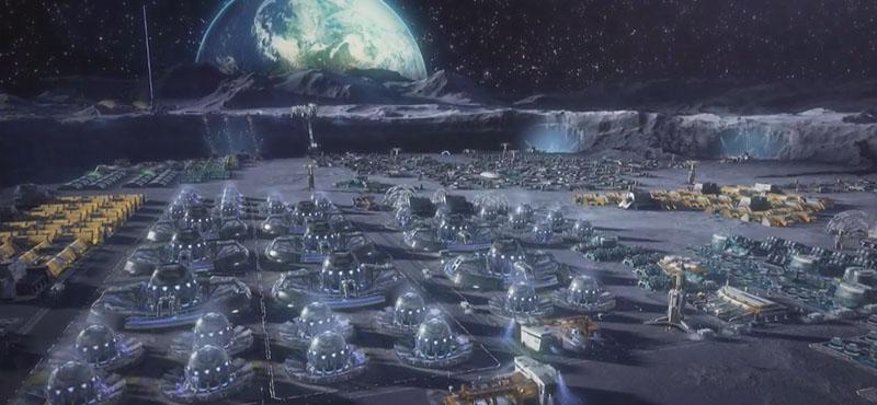osídlování vesmíru