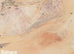 Sahara - osídlování