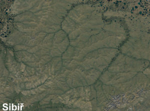 Sibiř - osídlování