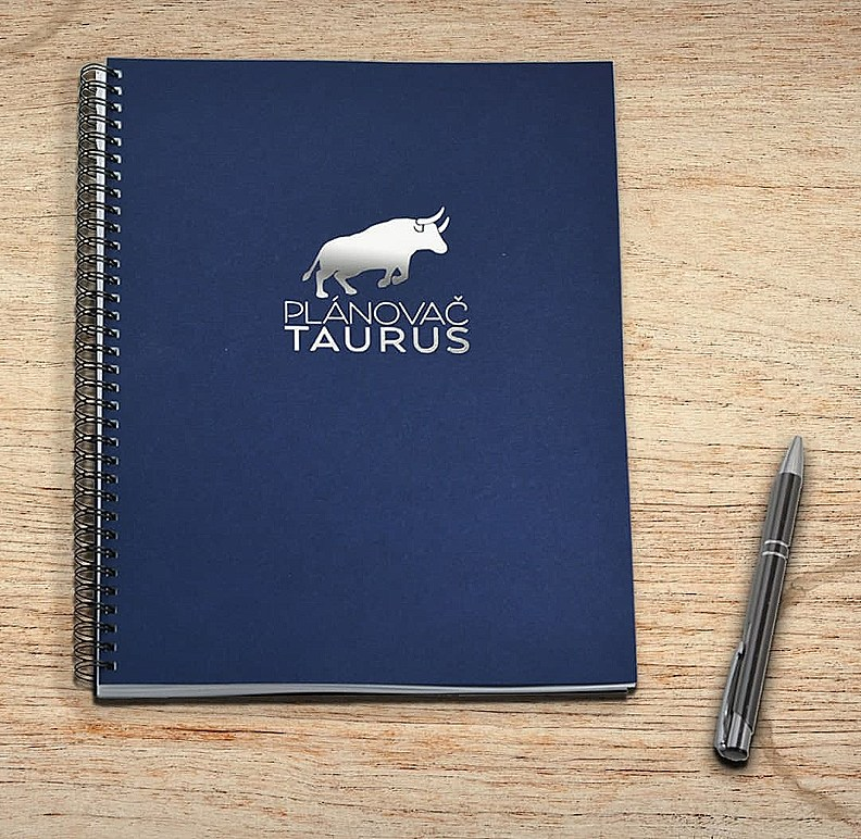 Denní plánovač Taurus